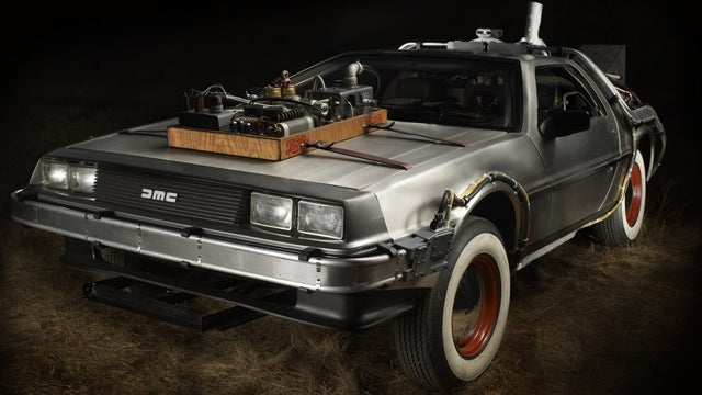 Delorean from Back to the Future III to cross the auction block