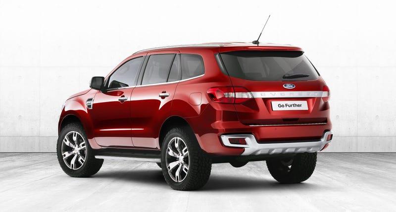 Ford Hopes New Ranger-Based Everest SUV Will Bolster Position In Asia