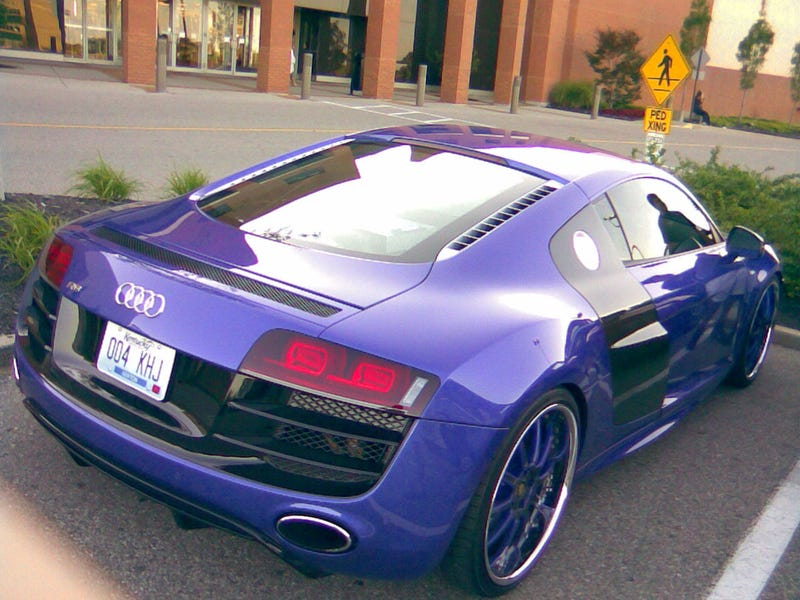 This Is The Purple Audi R8 Brandon Phillips Was Arrested In