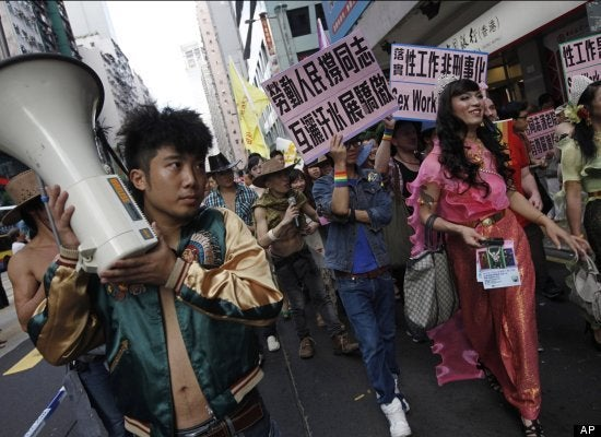 Hong Kong Gay Pride Parade As Colorful As You'd Imagine