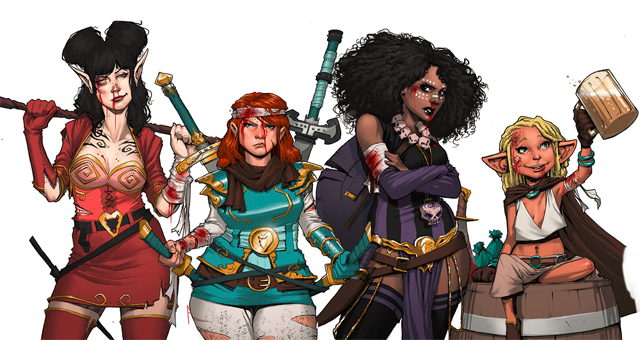 Rat Queens Is Going To Be A TV Show!
