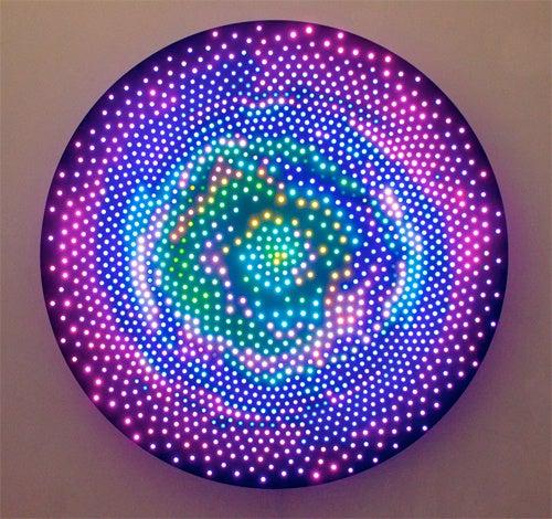 Intergalactic Vistas Rendered In LED