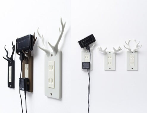 Socket Deer: Antlers For Your Outlets