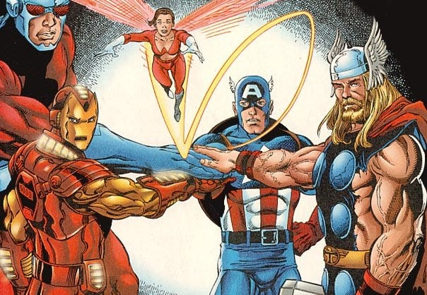 Marvel Announces The Avengers' Line-Up, Plus Thor And Captain America News