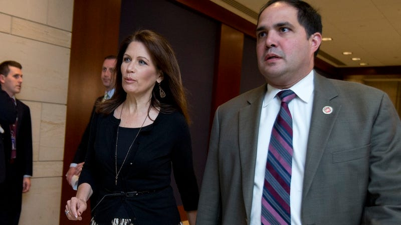 Michele Bachmann Aide Arrested for Theft From Congress Office Building