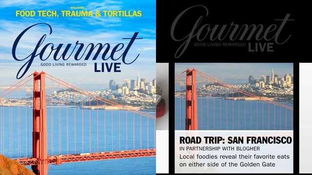 Gourmet Live Is Now on the iPhone