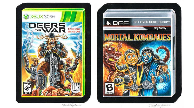 I Would Play Mortal Komrades. I Would Also Play Deers Of War.