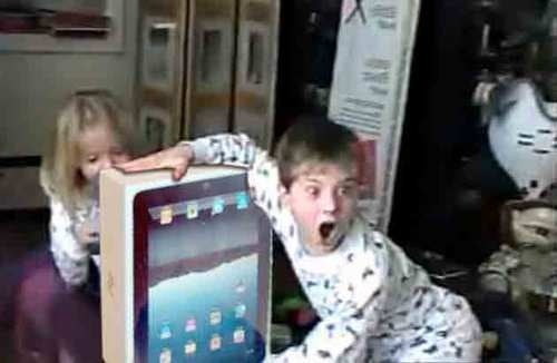 Kids Don't Want Toys For Christmas, They Want iPhones, iPads & Kinect