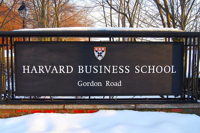 Business School No Longer the Thing to Do