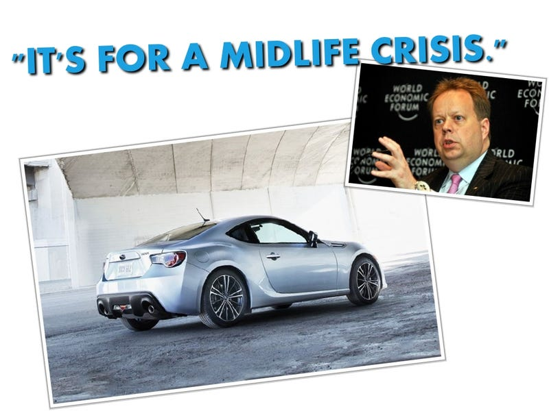 Nissan VP Andy Palmer Trash Talks Subaru BRZ, Is 50 Years Old