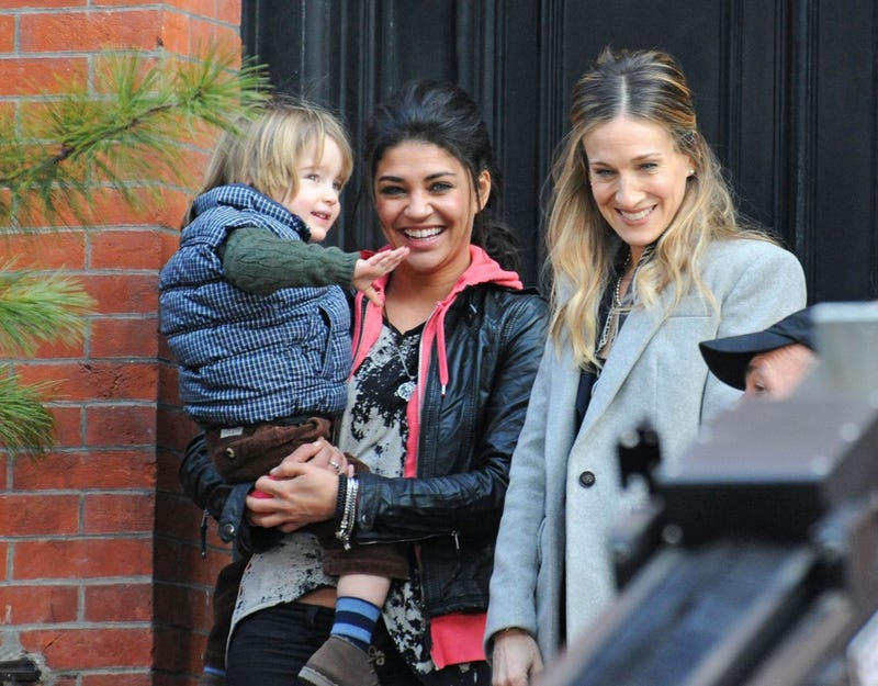 SJP and Jessica Szohr Obviously Have The Same Hairstylist