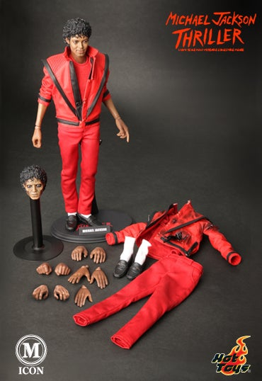 Thriller Action Figure Allows Kids to Legally Play with Michael Jackson