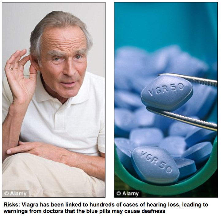 Could Viagra Cause Hearing Loss?