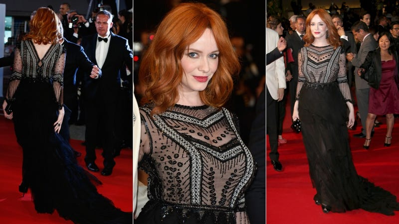 More Cannes Fashion: Gorgeous Gowns and Hideous Hooded Dresses