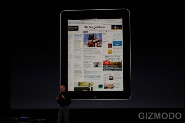The Apple iPad Is a Super-Slim iPhone and Laptop Hybrid