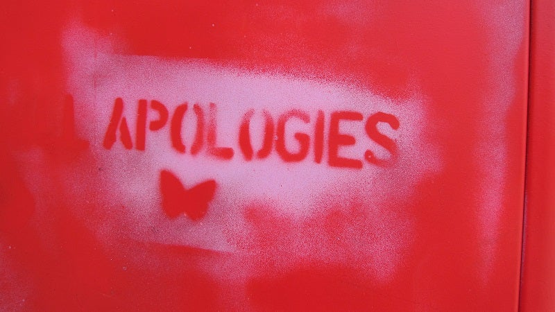 The Main Components Of a Scientifically Perfect Apology