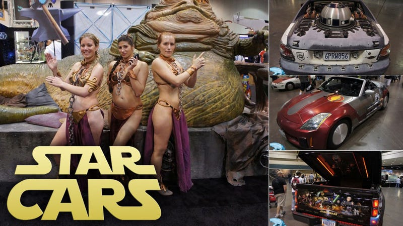 These Star Wars Fans Turned Their Cars Into Space Ships