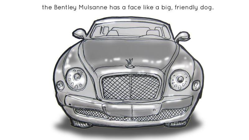 Livesketching The 2012 Detroit Auto Show: Bentley Mulsanne