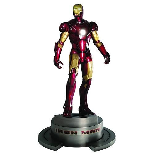 Iron Man, Now Powered By LED Arc Reactor