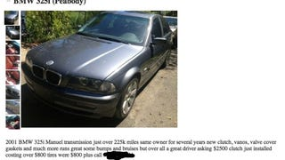 Would you buy your old car back? This is the story of my BMW 325i