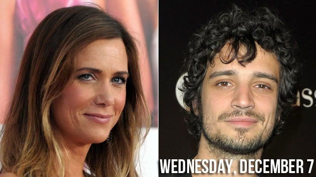 Girl Crush Meets Lady-Boner: Kristen Wiig And Fabrizio Moretti Hook Up