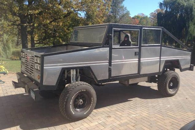 For $6,000, This Custom Chevy Truck Is Your Halloween Haunt
