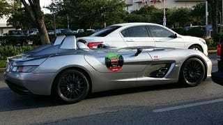 Spotted: Mercedes-Benz SLR Stirling Moss