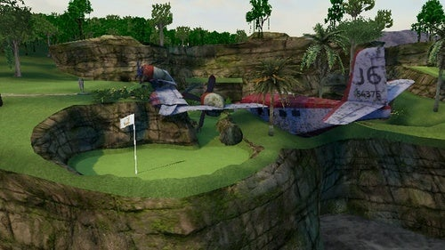 This Is Tiger Woods Mini-Golf, Without Windmills And Sort Of With NASCAR