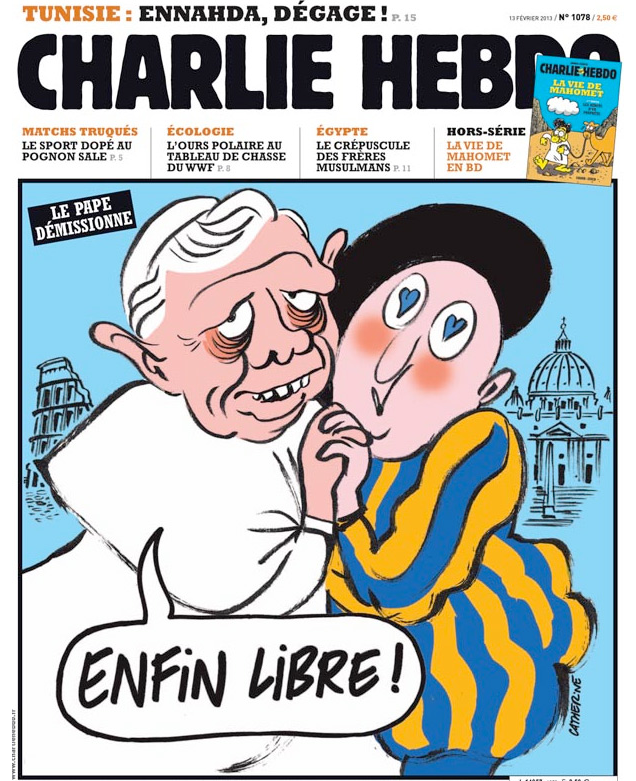 what charlie hebdo mostly complete histo