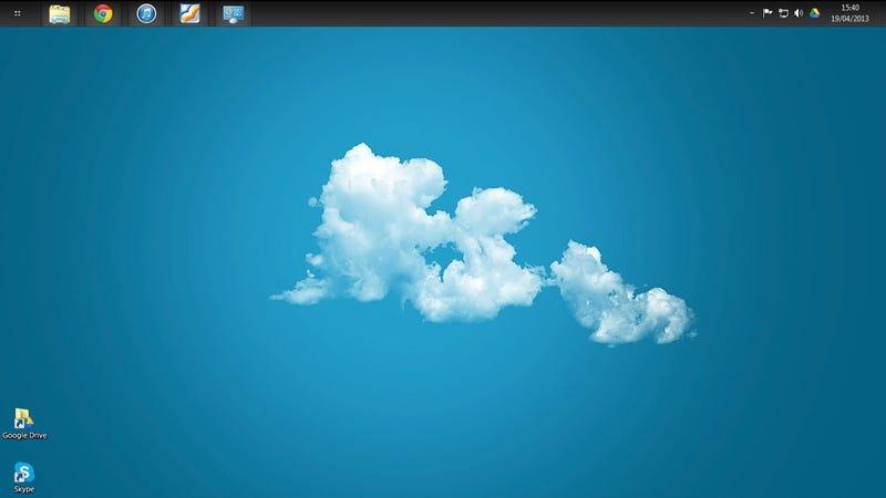 The Peace of Mind Desktop