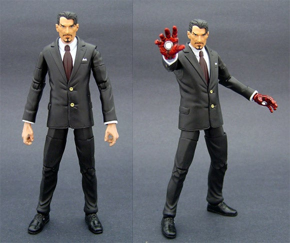 Jin Saotome's Custom Action Figures Really Capture the Essence of Tony Stark