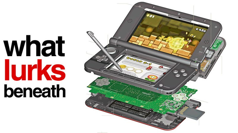 Get Inside the Nintendo 3DS XL