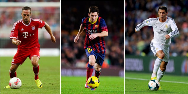 the best 100 soccer players 2014