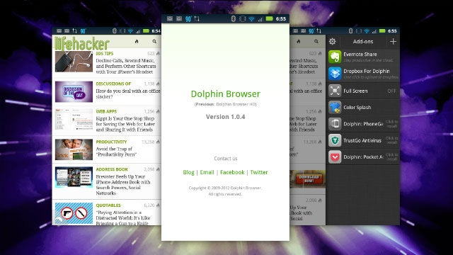 The Latest Dolphin Browser Beta Is Blazing Fast, Takes On Chrome with a New Engine