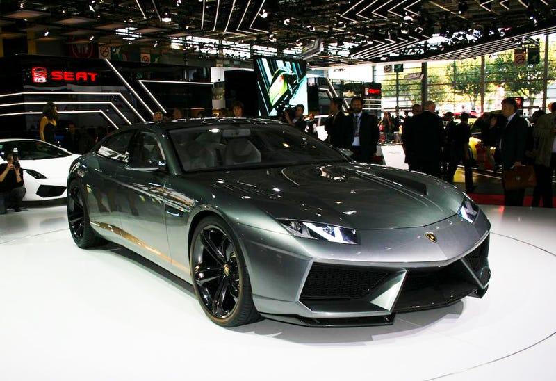 Lamborghini Estoque Could Get Diesel Engine Or Turbocharging