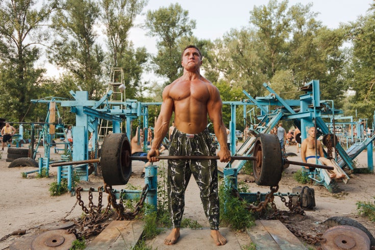 Ukrainian Outdoor Gyms Are The Best Outdoor Gyms