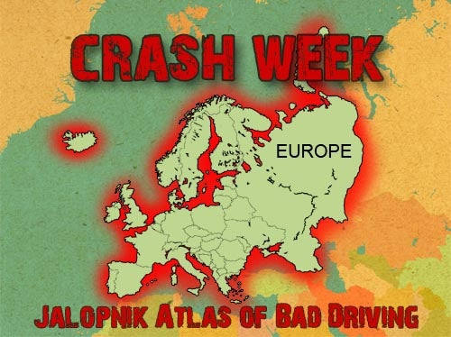 World Atlas Of Bad Driving: Europe