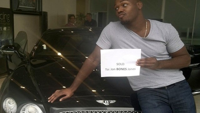 "UFC Star Jon ""Bones"" Jones Arrested For DUI, Wrecks His Bentley [UPDATED]"