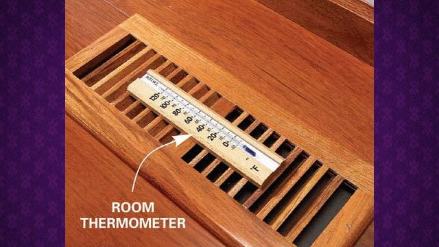 Check Your Air Conditioner's Efficiency with a Thermometer