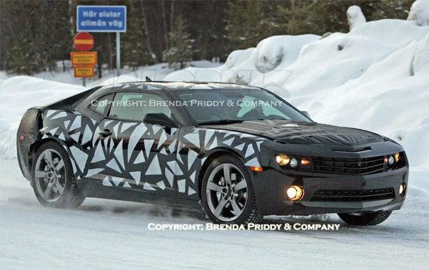 2010 Chevy Camaro Caught Testing In Sweden, Best Black Grille Shot Yet