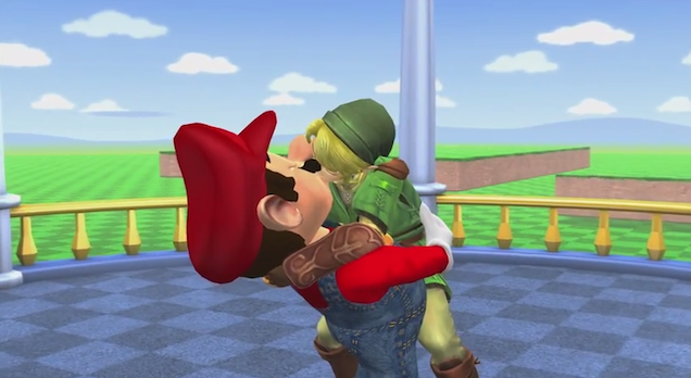 Nintendo Characters Celebrate Gay Marriage