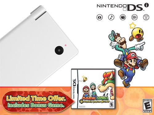 Nintendo Packs Bowser's Inside Story Inside New DSi Bundle