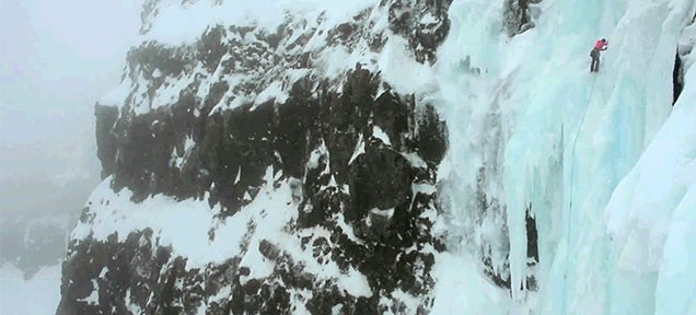 Men climb real life version of Game of Thrones' northern Wall