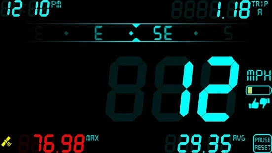 DigiHUD Speedometer: