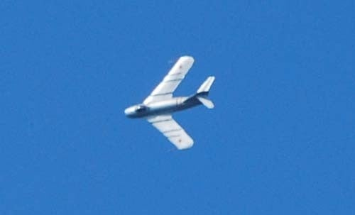 Mig-17F Invades Iowa Skies, Performs Afterburner Hoonage