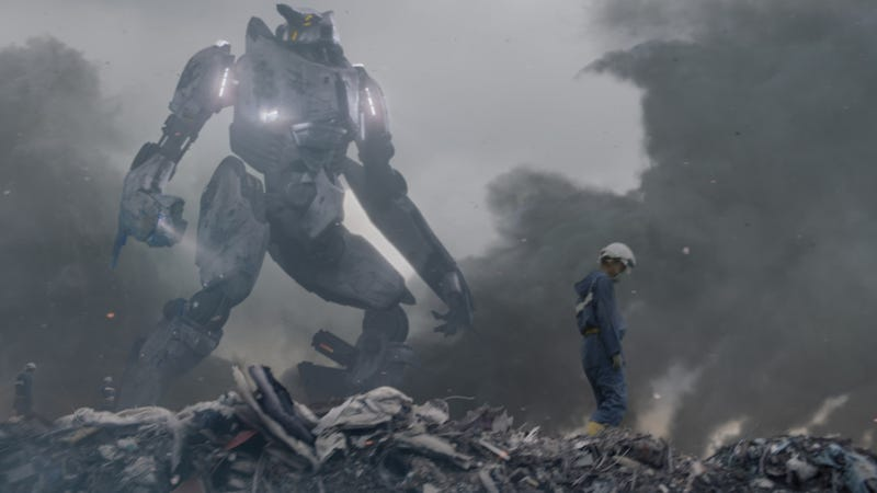 An Exclusive Look Behind the Scenes of Pacific Rim's Prologue Sequence