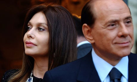 Italian Prime Minister's Long-Suffering Wife Issues Smackdown