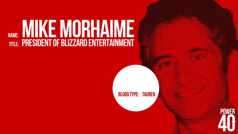 ↓ 06. Mike Morhaime, CEO of Blizzard