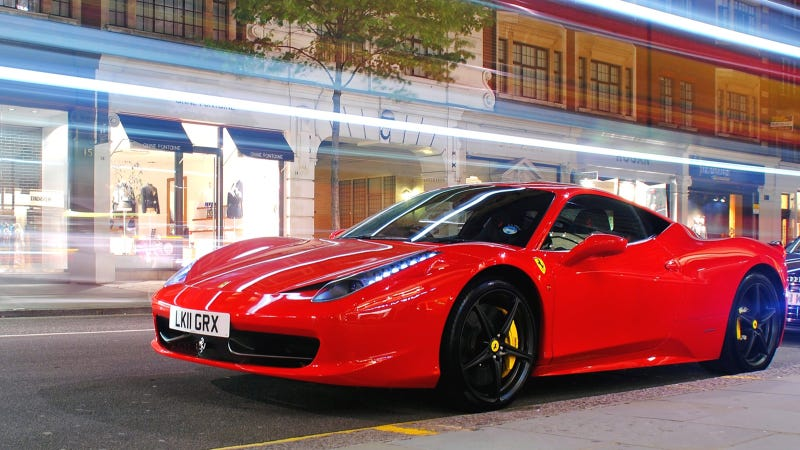 Would You Forsake The Manual For A Ferrari 458?