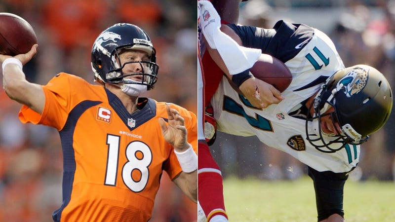 Jaguars-Broncos Could Have The Largest Point Spread In NFL History